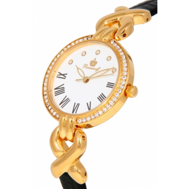 """6249A1BL российские женские кварцевые часы Romanoff """"Элеганс""""  6249A1BL"""
