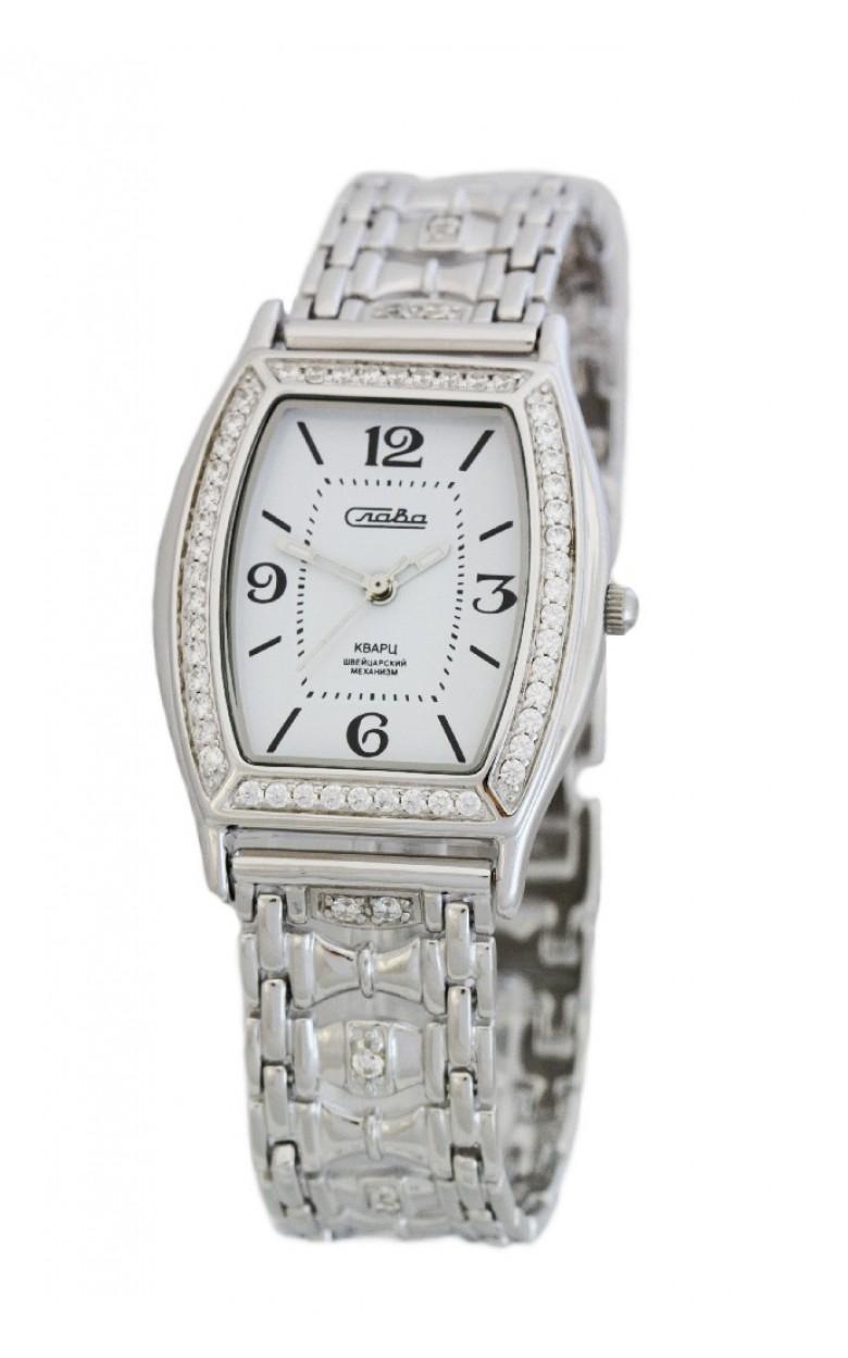 С2442010/763 российские серебрянные женские кварцевые часы Слава
