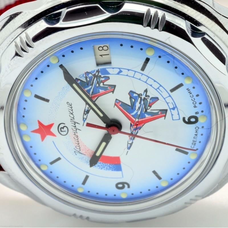"""211066/2414 российские мужские механические наручные часы Восток """"Командирские"""" для военных  211066/2414"""
