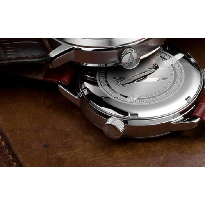 """V.1.11.5.036.4 кож.рем. российские кварцевые наручные часы Aviator """"Airacobra"""" для мужчин  V.1.11.5.036.4 кож.рем."""
