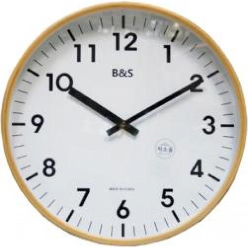3201M  кварцевые настенные часы B&S  3201M
