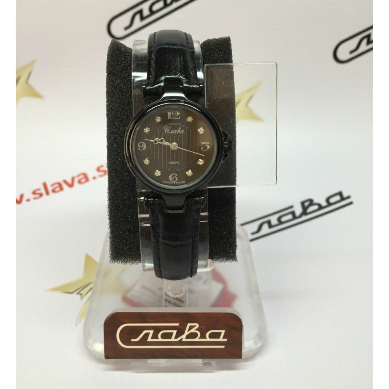 """5014056/2035 российские кварцевые наручные часы Слава """"Браво"""" для женщин  5014056/2035"""