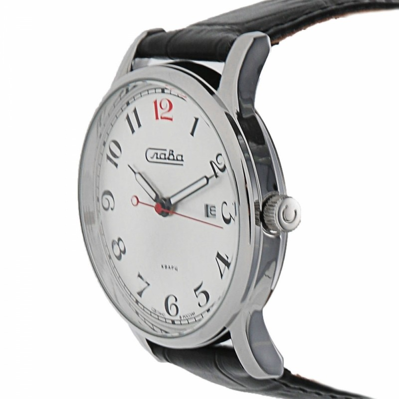 """1401713/2115-300 российские кварцевые наручные часы Слава """"Традиция"""" для мужчин  1401713/2115-300"""