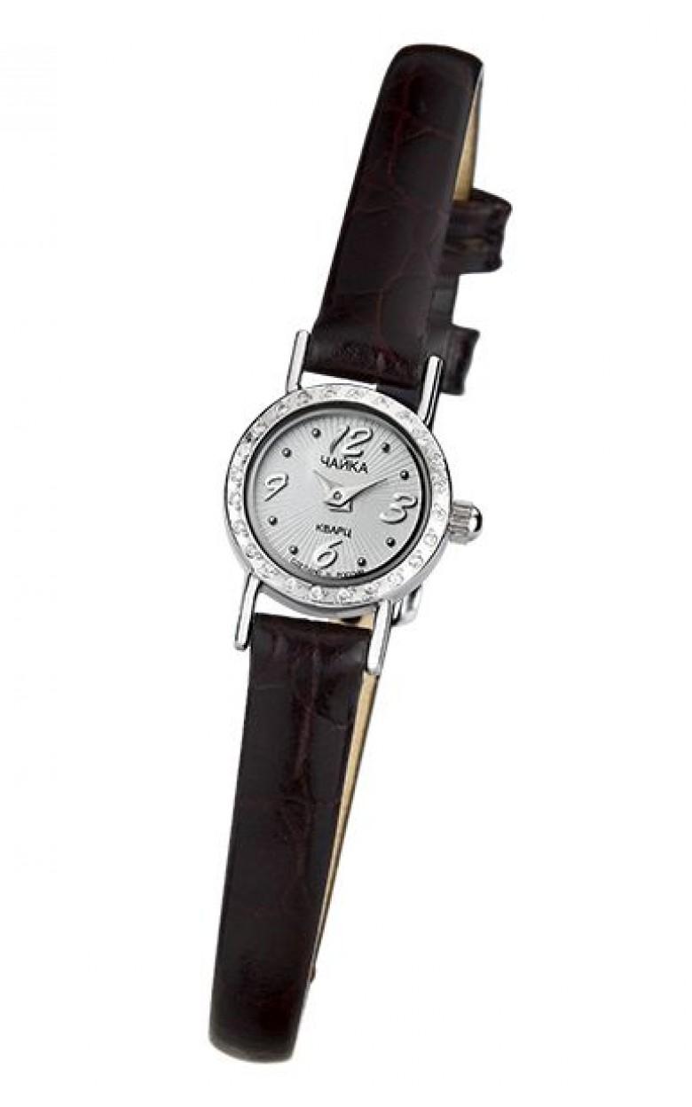 97006-1  российские серебрянные кварцевые наручные часы Platinor