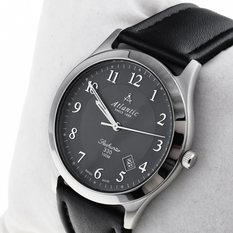 71360.41.43 швейцарские кварцевые наручные часы Atlantic