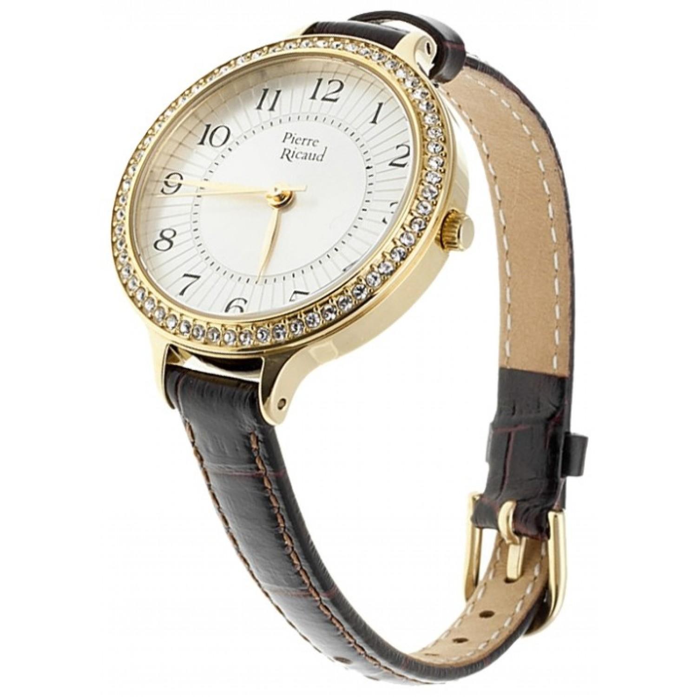 """P21060.1223QZ  кварцевые наручные часы Pierre Ricaud """"Ladies Starp"""" для женщин  P21060.1223QZ"""