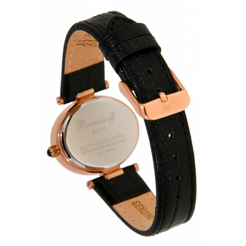 """10459B1BL российские кварцевые наручные часы Romanoff """"Элеганс"""" для женщин  10459B1BL"""