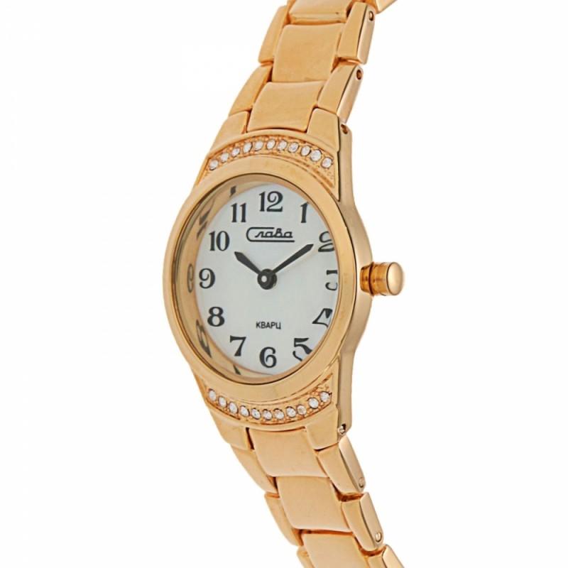 6193174/2035 российские кварцевые наручные часы Слава для женщин  6193174/2035