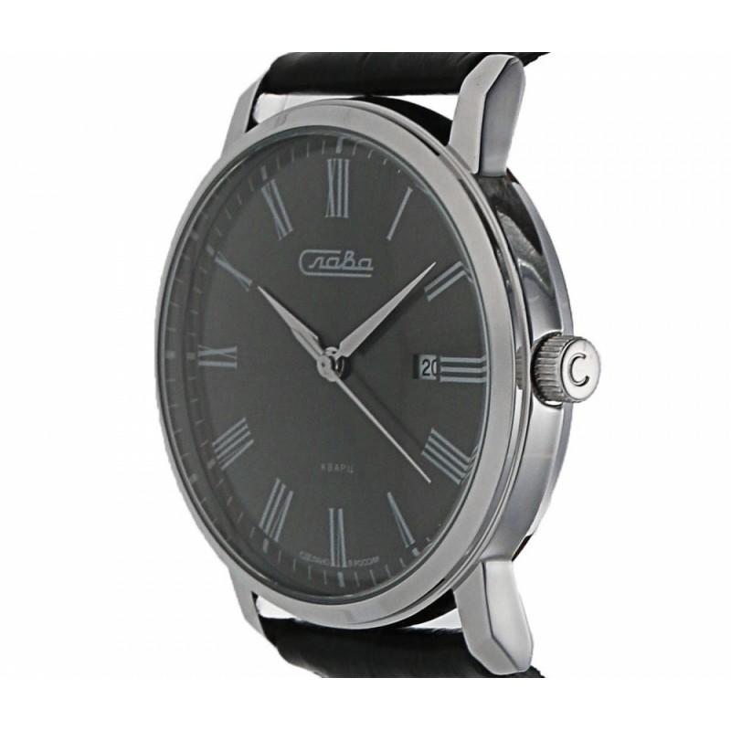 """1391740/2115-300 российские кварцевые наручные часы Слава """"Традиция"""" для мужчин  1391740/2115-300"""