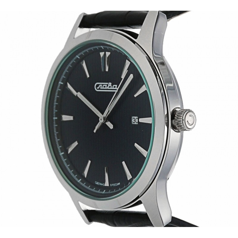 """1311463/2115-300 российские кварцевые наручные часы Слава """"Традиция"""" для мужчин  1311463/2115-300"""