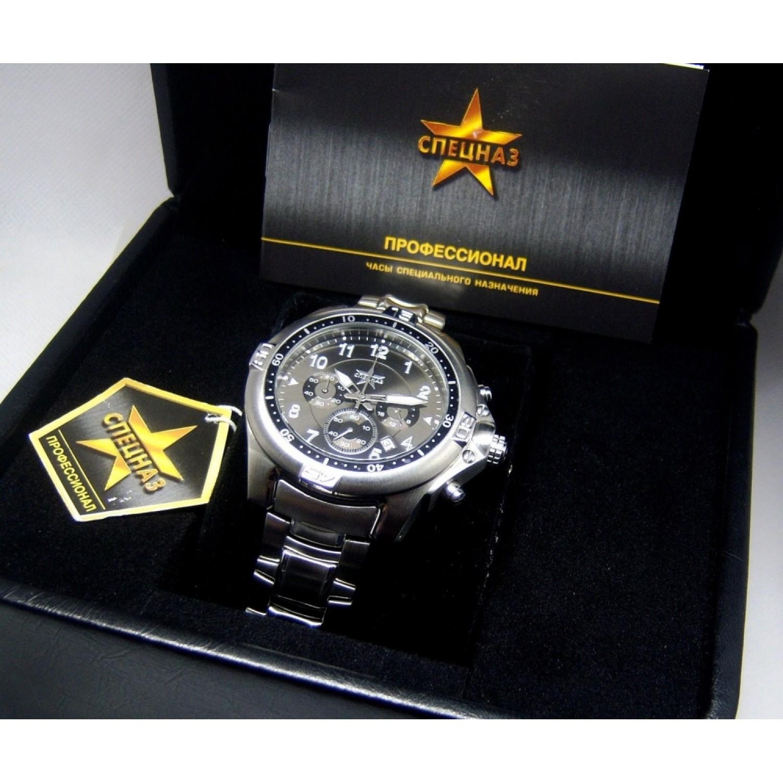 """С1060202-OS20 российские военные кварцевые наручные часы Спецназ """"Профессионал"""" для мужчин  С1060202-OS20"""