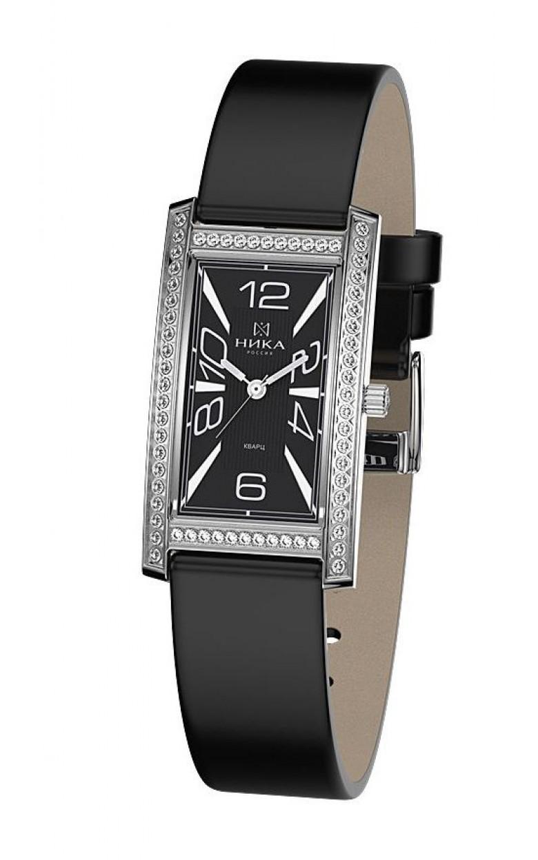 0551.2.9.52-8.92 российские серебрянные женские кварцевые часы Ника