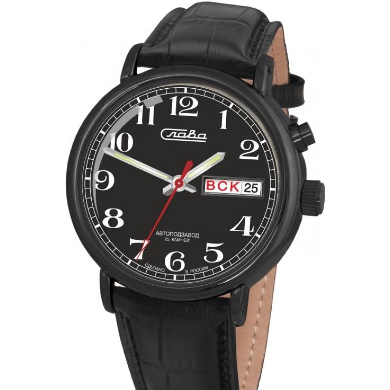 1224289/300-2427 российские мужские механические часы Слава