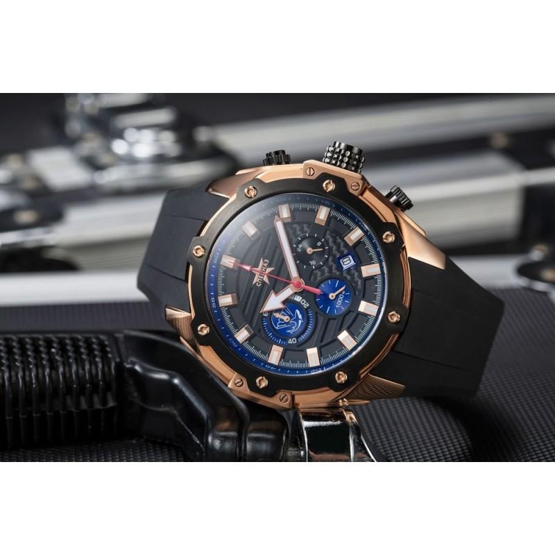 """С9472312-20 Часы наручные """"Спецназ"""" кварцевый хронограф """"Боевые пловцы"""""""