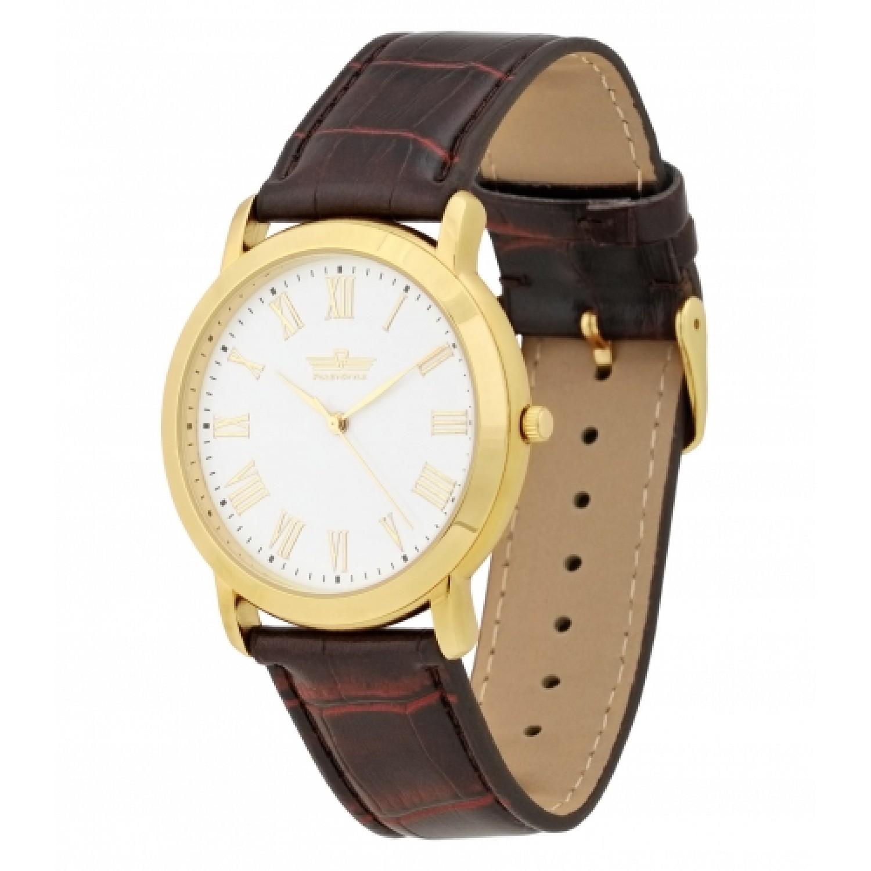 2035/8096136П российские мужские кварцевые часы Полёт-Стиль  2035/8096136П