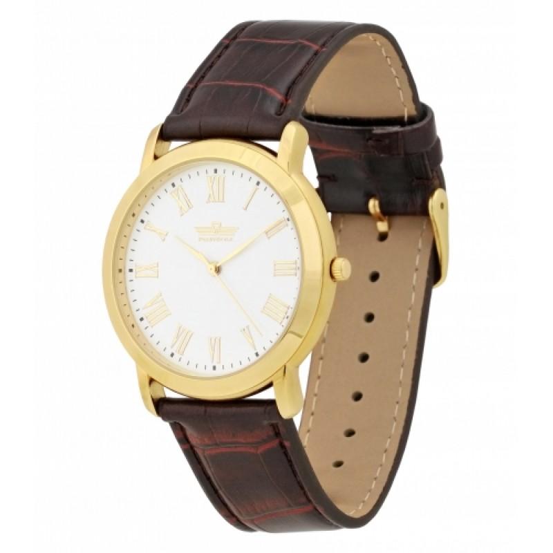 2035/8096136П российские мужские кварцевые часы Премиум-Стиль  2035/8096136П