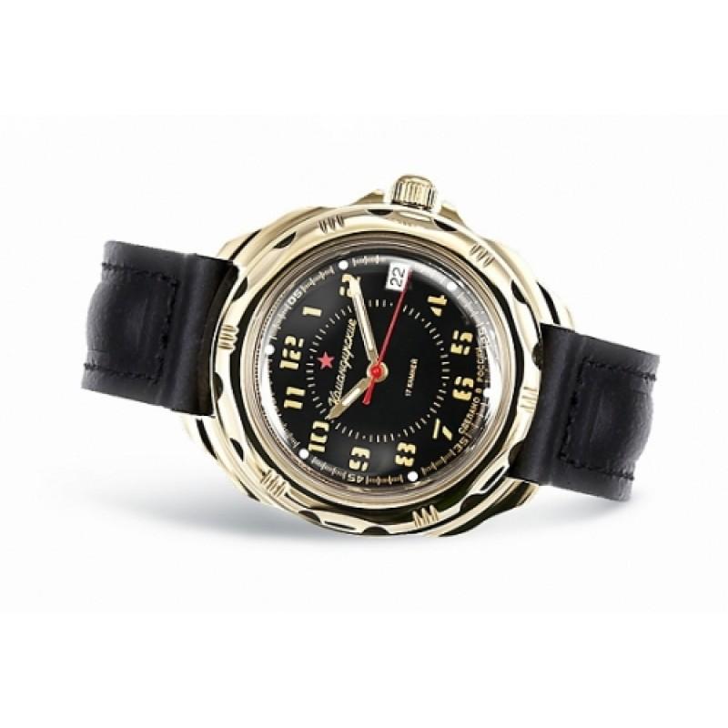 """439633/2414 российские военные механические наручные часы Восток """"Командирские"""" для мужчин  439633/2414"""