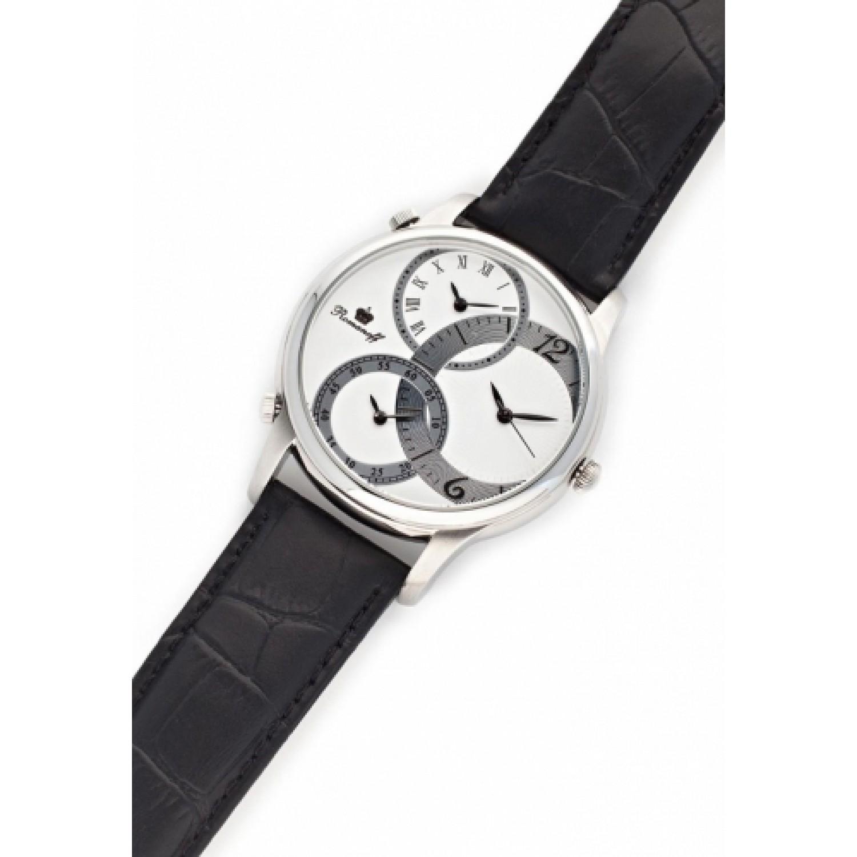 1124G1BL российские кварцевые наручные часы Romanoff для мужчин  1124G1BL