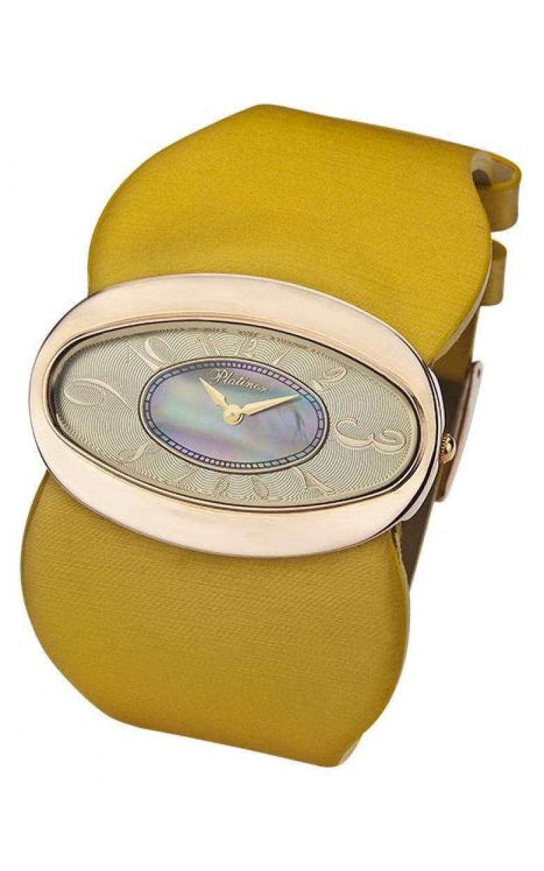 92650.213 российские золотые женские кварцевые наручные часы Platinor