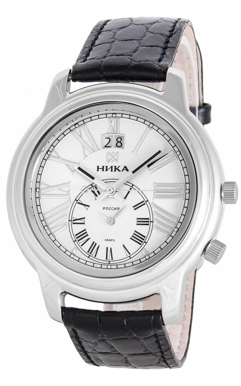 """1897.0.9.11 А российские серебрянные мужские кварцевые наручные часы Ника """"Ego""""  1897.0.9.11 А"""