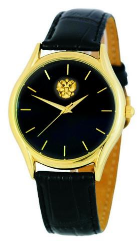 """1129528/2035 российские кварцевые наручные часы Слава """"Патриот"""" для женщин логотип Герб РФ  1129528/2035"""
