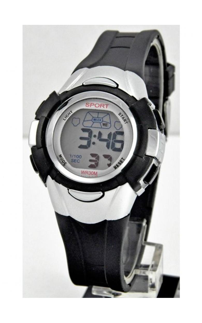 427 серые российские кварцевые наручные часы Радуга для детей  427 серые