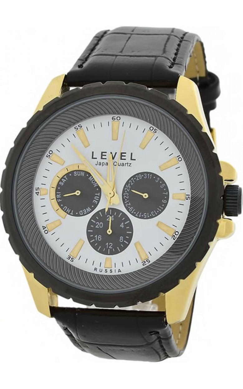 6P29/5046239 российские кварцевые наручные часы Level для мужчин  6P29/5046239