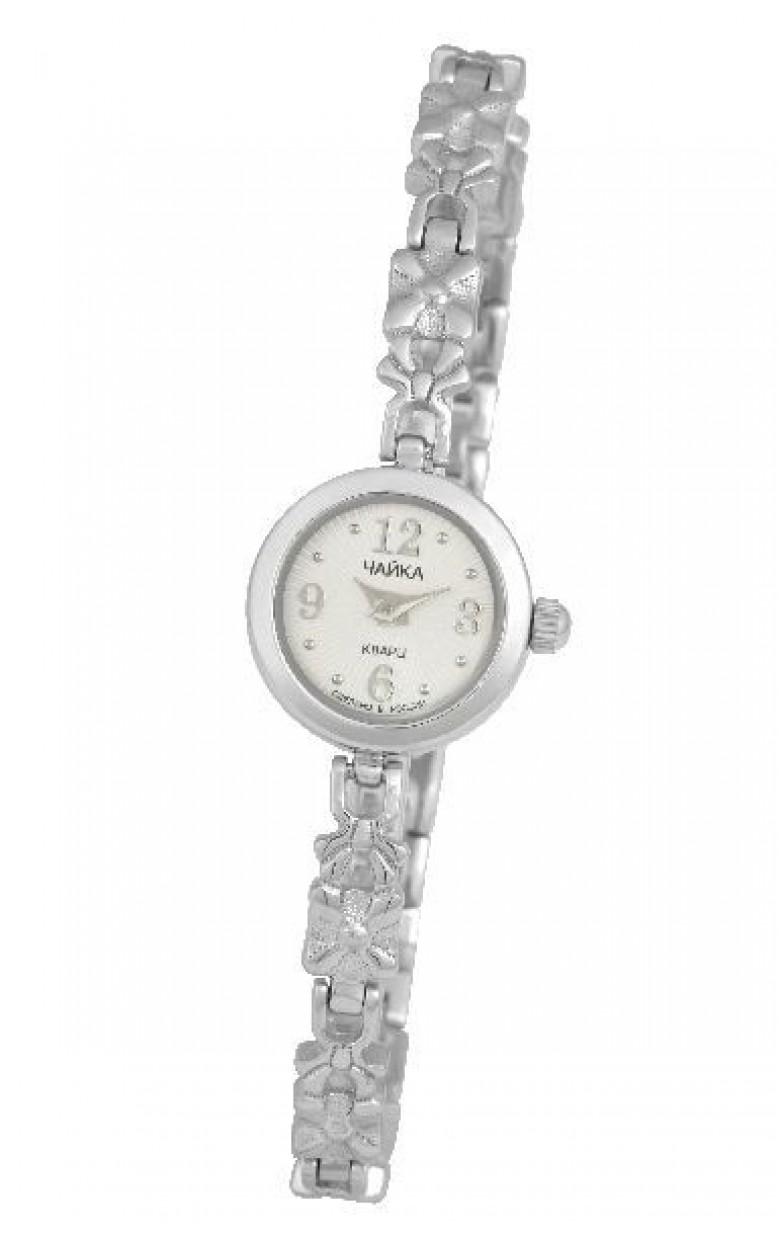 97000-13.247 российские серебрянные кварцевые наручные часы Platinor