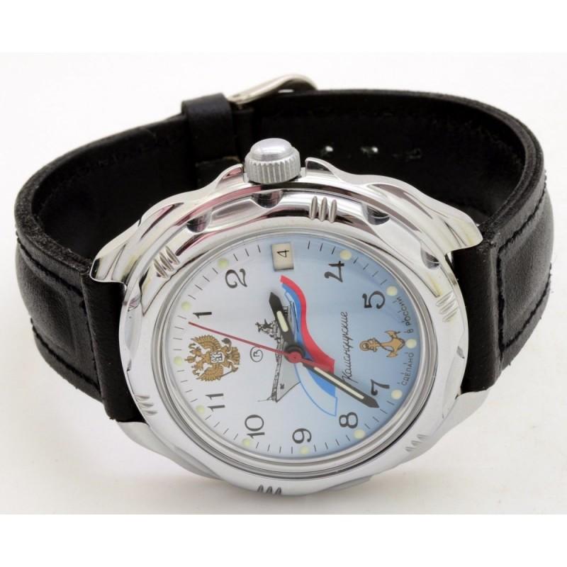"""211619/2414 российские военные механические наручные часы Восток """"Командирские"""" для мужчин  211619/2414"""