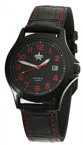 """С2104310-2115-05  кварцевые наручные часы Спецназ """"Атака""""  С2104310-2115-05"""