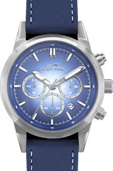 "10980331  кварцевые с функциями хронографа часы Pilot Time ""Pilot-Time""  10980331"