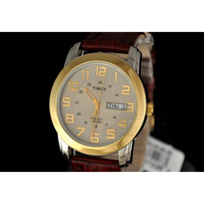 "T2N441 A RUS  мужские кварцевые часы Timex ""Dress Strap""  T2N441 A RUS"