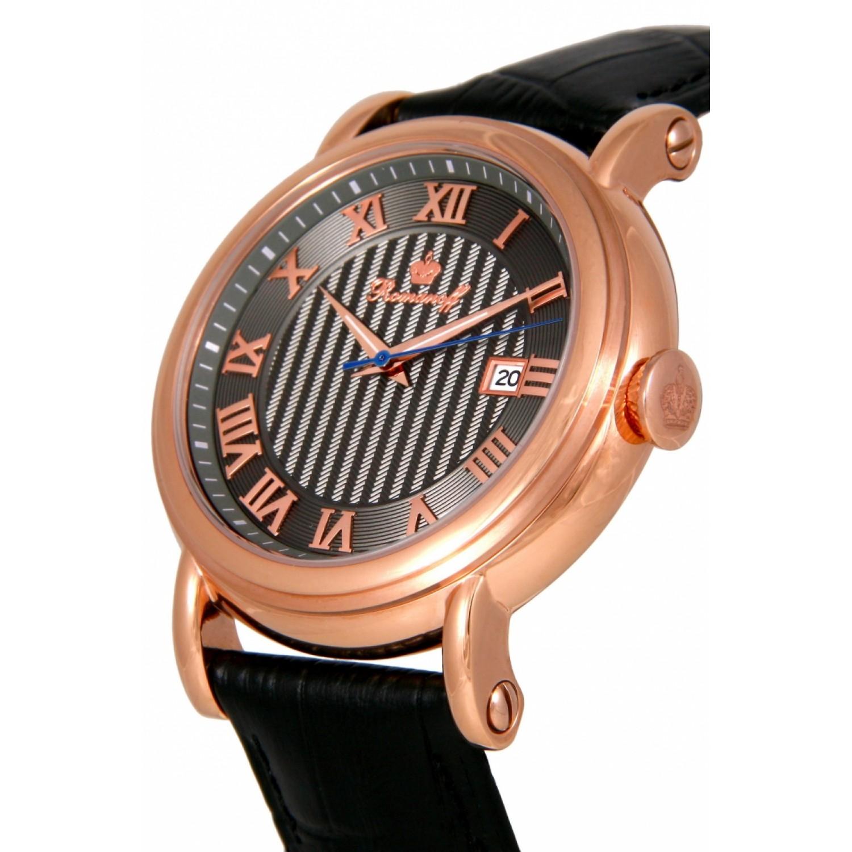 """3714B3BL российские мужские кварцевые наручные часы Romanoff """"Классика""""  3714B3BL"""