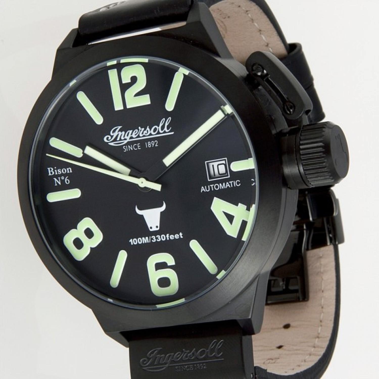 IN8900BBK  водонепроницаемые механические наручные часы Ingersoll