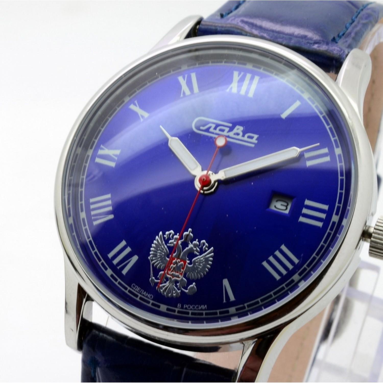 1401720/2115-300 российские кварцевые наручные часы Слава