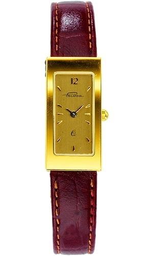115E1/0000/01-9,00  золотые женские кварцевые часы Priosa  115E1/0000/01-9,00