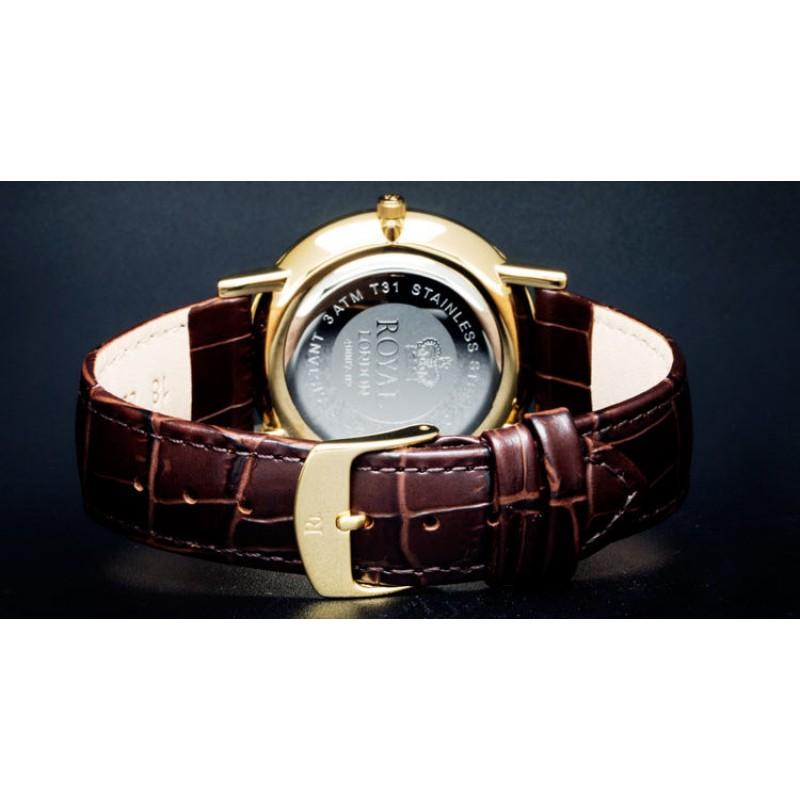40007-02 Часы наручные кварцевые Royal London
