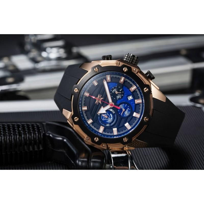 """С9472311-20 Часы наручные """"Спецназ"""" кварцевый хронограф """"Боевые пловцы"""""""