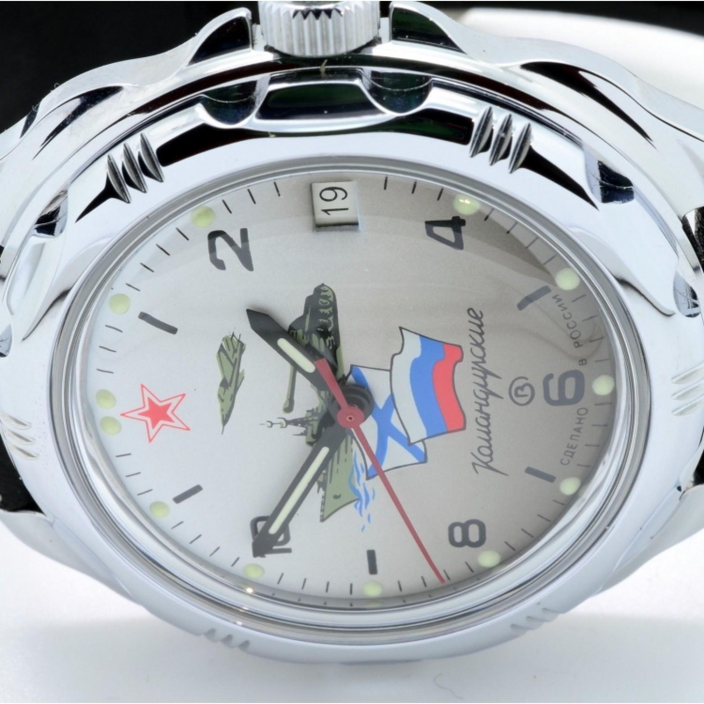 """211535/2414 российские военные механические наручные часы Восток """"Командирские"""" для мужчин  211535/2414"""