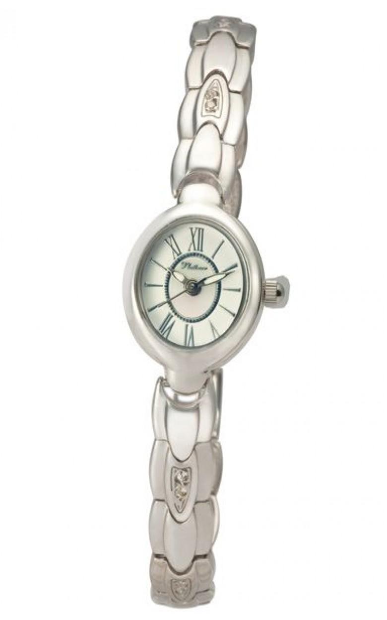 78806.216 российские серебрянные женские кварцевые наручные часы Platinor