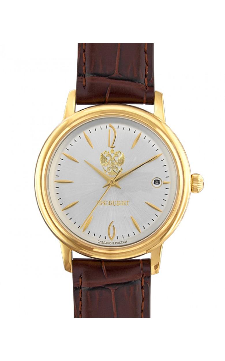 43206231 2414  российские механические наручные часы Президент для мужчин логотип Герб РФ  43206231 2414