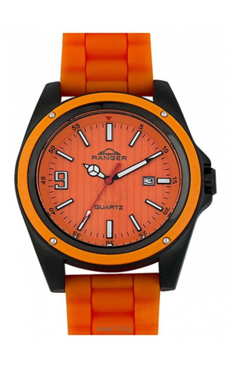 0615102 российские водонепроницаемые мужские кварцевые часы Ranger  0615102