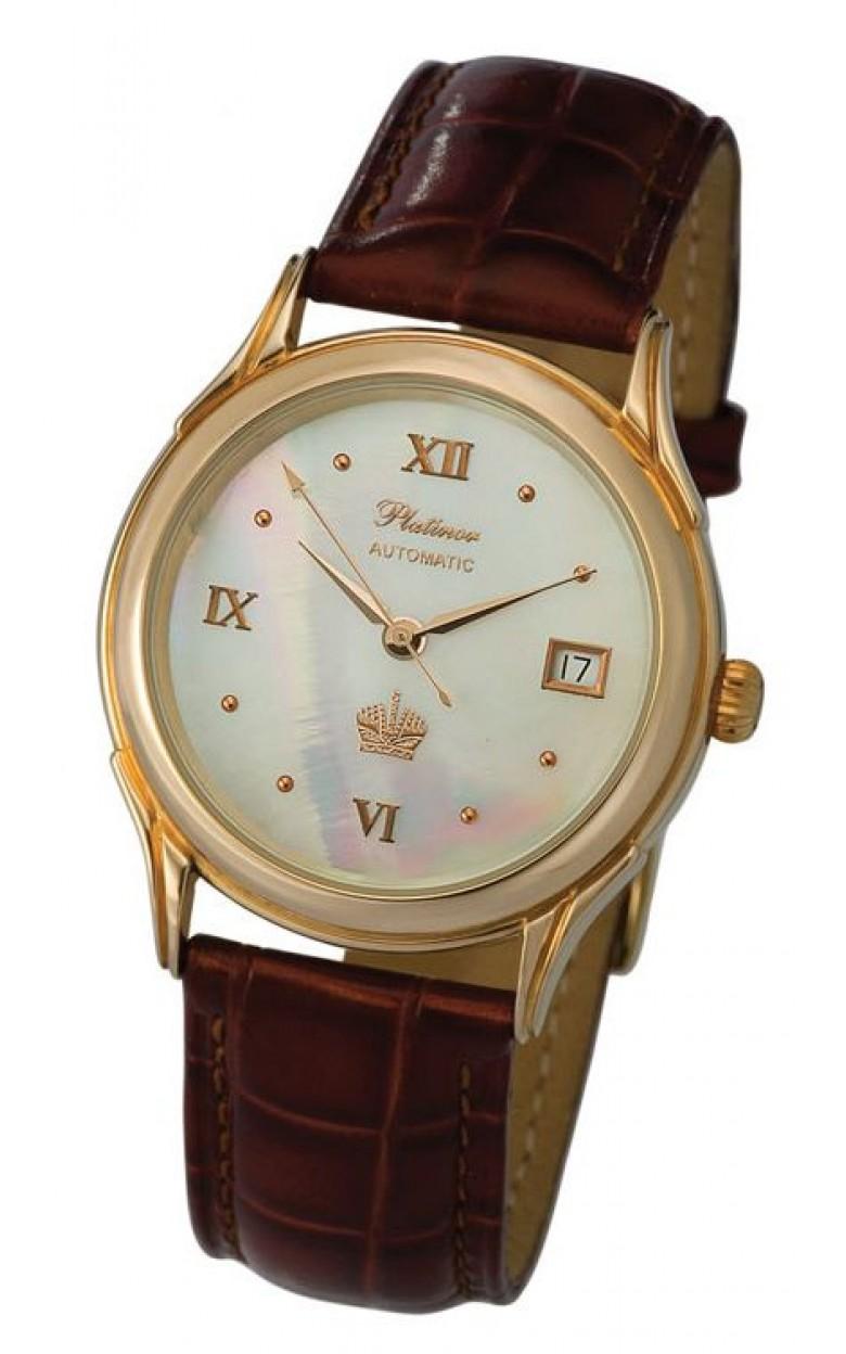 50350.233 российские золотые мужские механические наручные часы Platinor