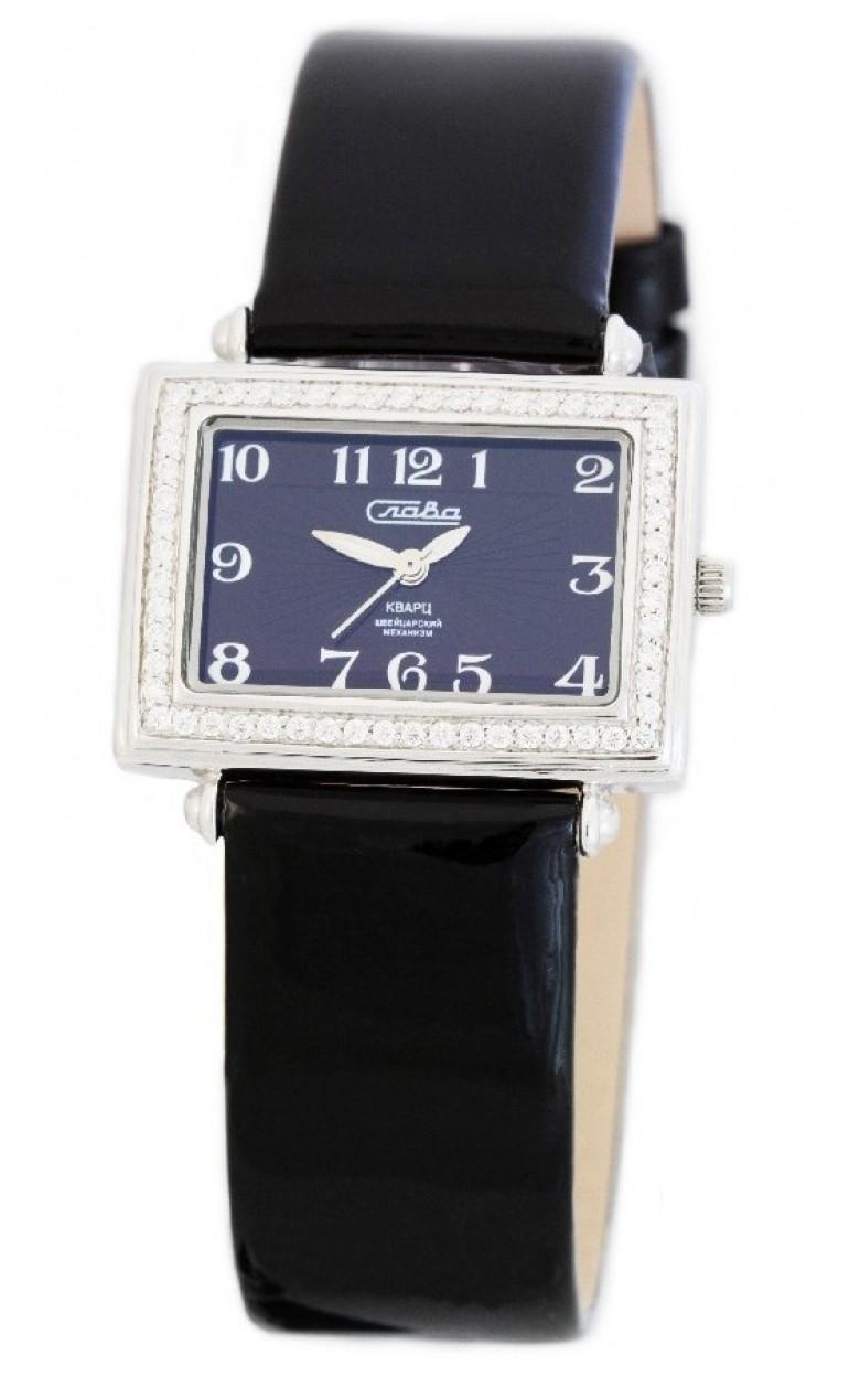 С3242025/763 российские серебрянные кварцевые наручные часы Слава