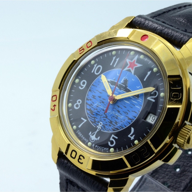 """439163/2414 российские военные механические наручные часы Восток """"Командирские"""" для мужчин  439163/2414"""