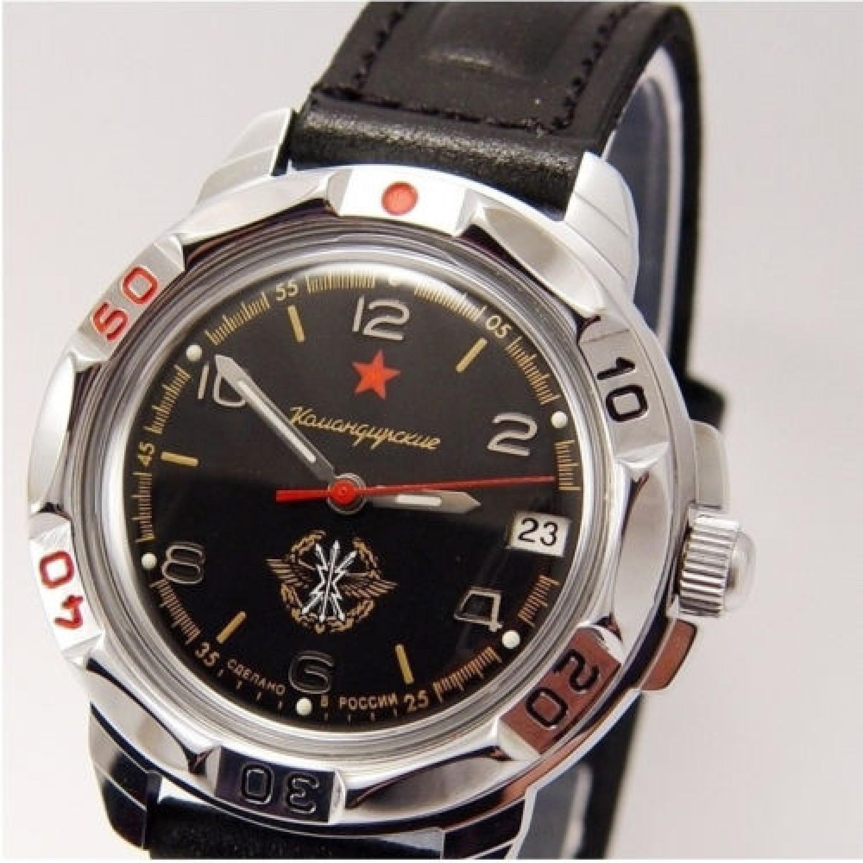 431296/2414 российские военные механические наручные часы Восток