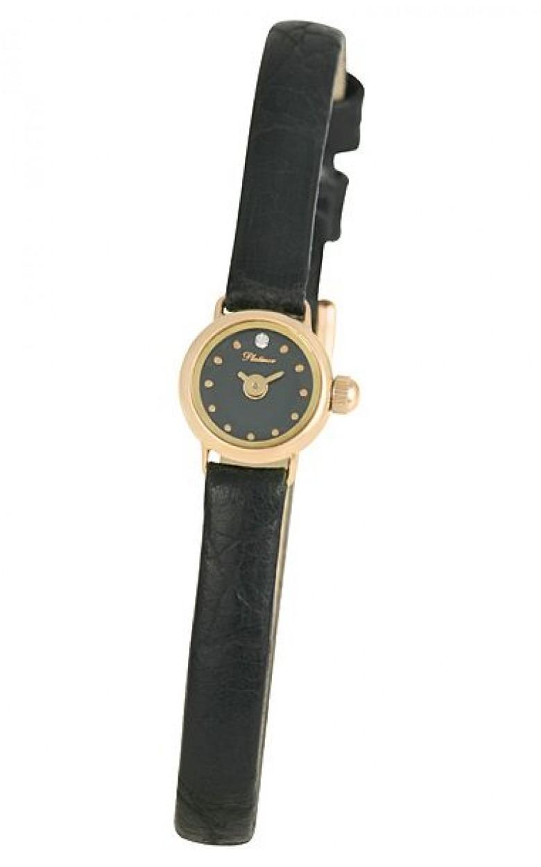 """44650.501 российские золотые кварцевые наручные часы Platinor """"Софи"""" для женщин  44650.501"""