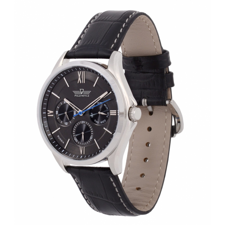 7000/1621239 российские кварцевые наручные часы Полёт-Стиль для мужчин  7000/1621239