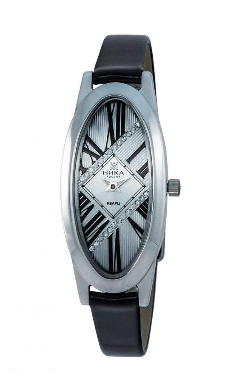 1861.0.9.23A-11,40 российские серебрянные женские кварцевые часы Ника