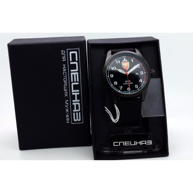 С2864324-2115-09 российские военные кварцевые наручные часы Спецназ С2864324-2115-09